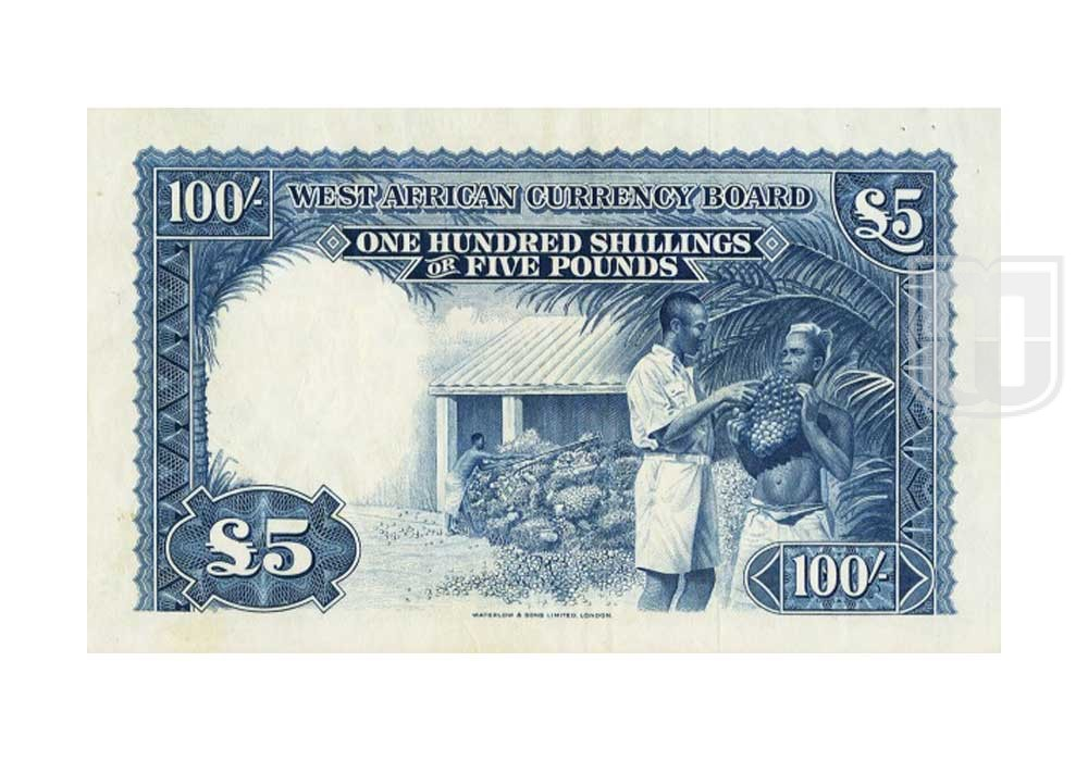 Shillings = 5 Pounds | KM 11 | R