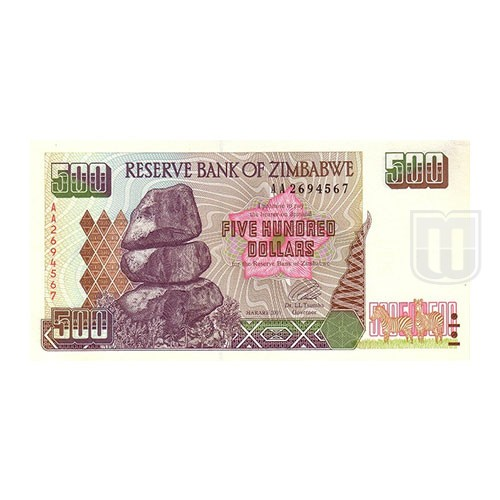 500 Dollars | KM 10 | O