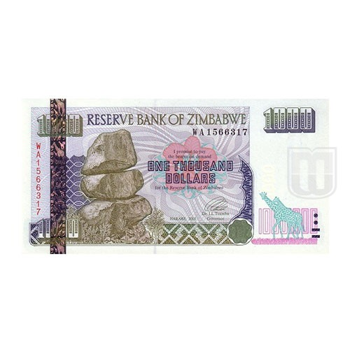 1000 Dollars | KM 12 | O
