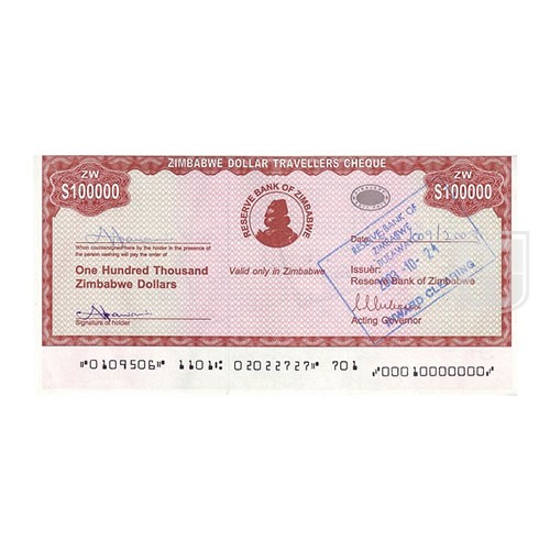 100,000 Dollars | KM 20 | O