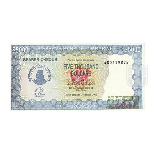 5000 Dollars | KM 21 | O