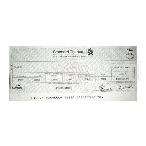 20,000 Dollars | KM 25 | O