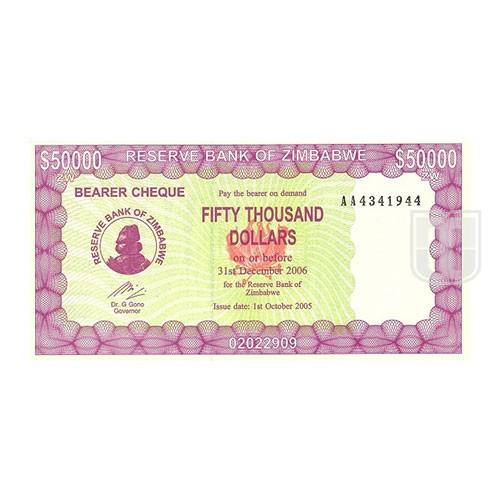 50,000 Dollars | KM 28 | O