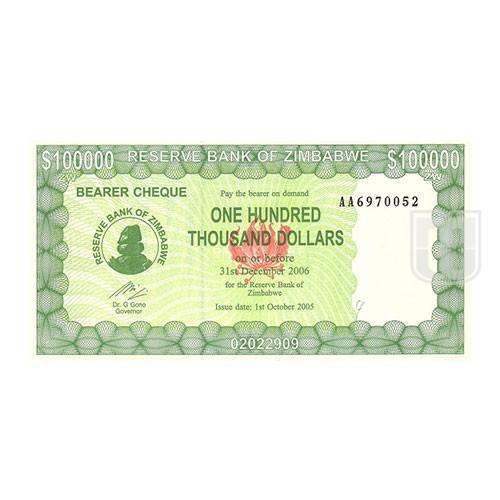 100,000 Dollars | KM 31 | O