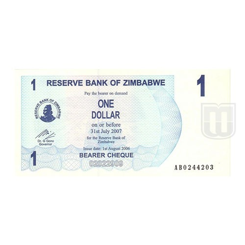1 Dollar | KM 37 | O