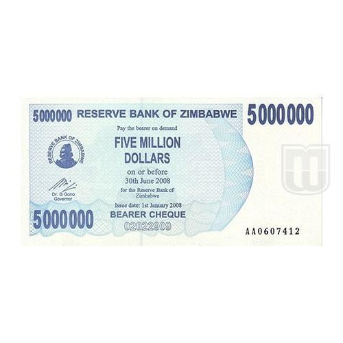 5,000,000 Dollars | KM 54 | O