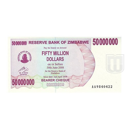 50,000,000 Dollars | KM 57 | O