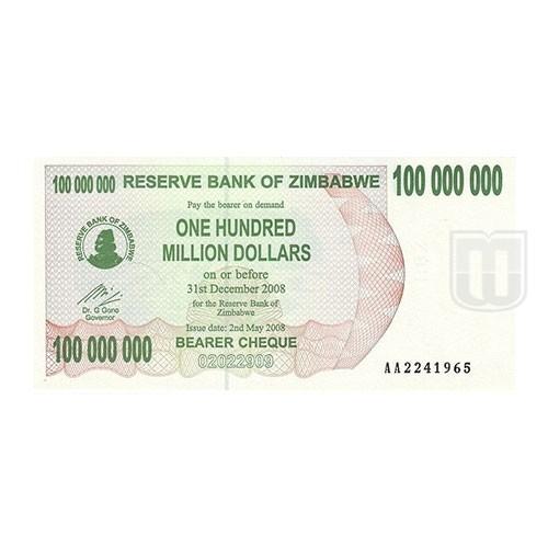 100,000,000 Dollars | KM 58 | O