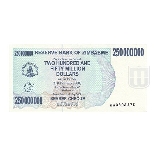 250,000,000 Dollars | KM 59 | O