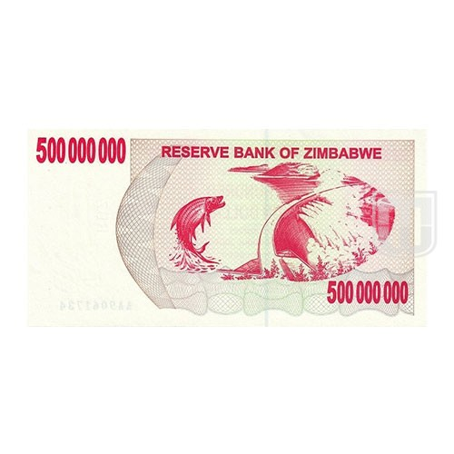 500,000,000 Dollars | KM 60 | R