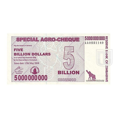 5,000,000,000 Dollars | KM 61 | O