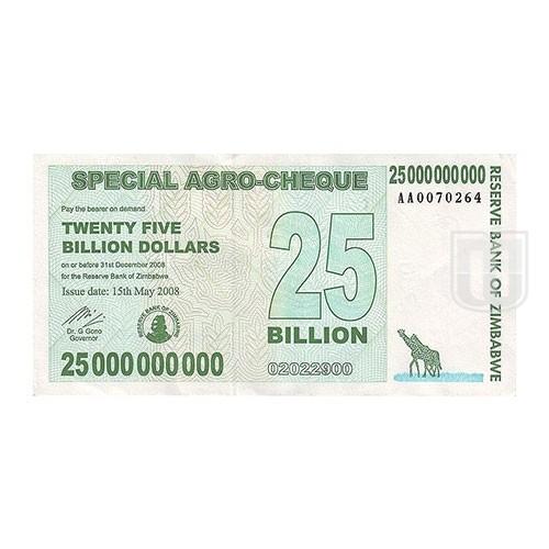 25,000,000,000 Dollars | KM 62 | O