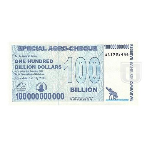 100,000,000,000 Dollars | KM 64 | O