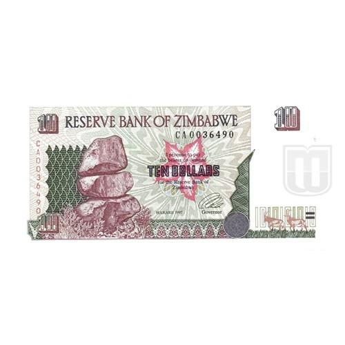 10 Dollars | KM 6 | O