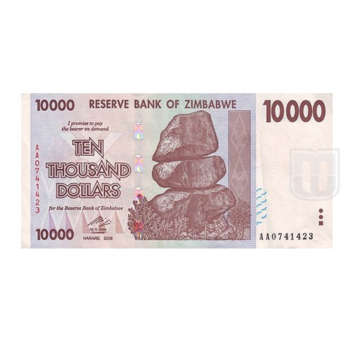 10,000 Dollars | KM 72 | O