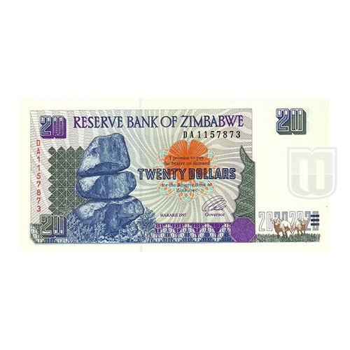 20 Dollars | KM 7 | O