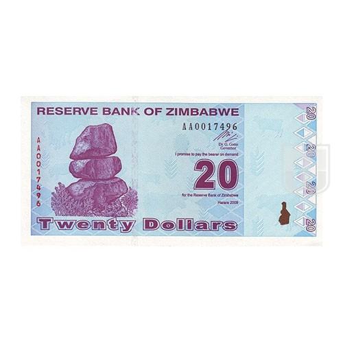 20 Dollars | KM 95 | O